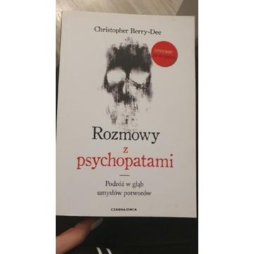 """Książka """" Rozmowy z psychopatami """""""