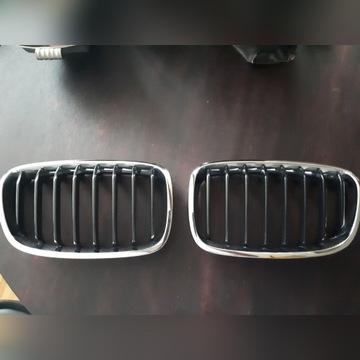 BMW F20 GRILL ATRAPA NERKI oryginalne KOMPLET