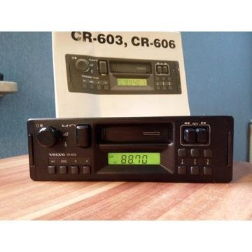 Radio VOLVO cr-603 + kod + książka
