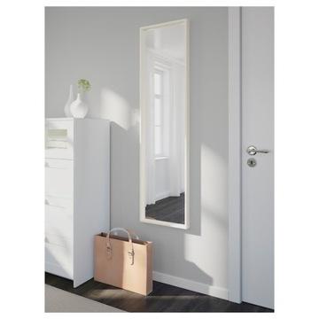 NISSEDAL Lustro, biały, 40x150 cm