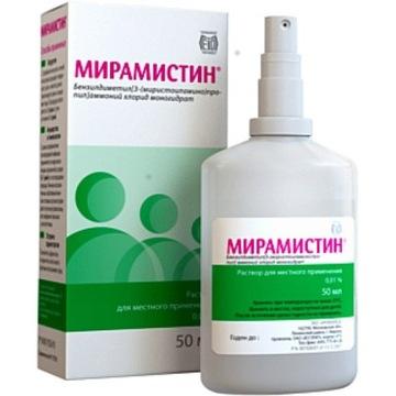 MIRAMISTIN środek antyseptyczny przeciw bakteriom