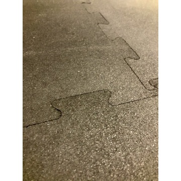 Podłoga gumowa puzzle / fitness
