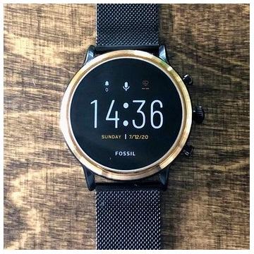 Elegancki Smartwatch FOSSIL Julianna HR GEN 5