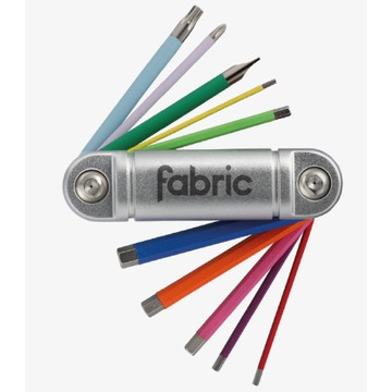 Klucz kieszonkowy Fabric 11w1 kolorowy