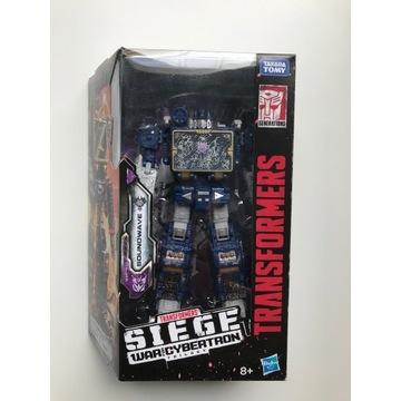 Figurka Transformers Siege WFC-S11 Soundwave