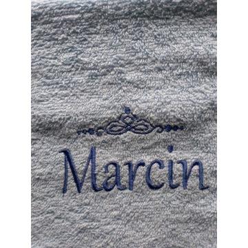 Ręcznik 30x50 z haftem imienia Marcin