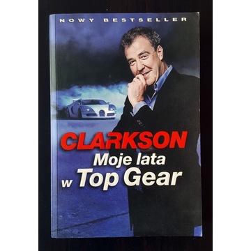 Książka Moje lata w Top Gear Jeremy Clarkson