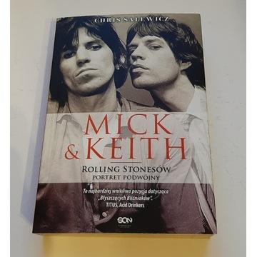 """MICK & KEITH """"Rolling Stonsów Portret Podwójny"""""""