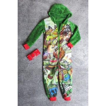 piżama kombinezon polar Żółwie Ninja 92-98 George