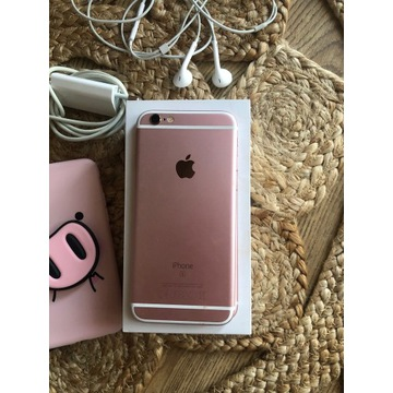 iPhone 6s rose gold 16GB ,bateria 100%