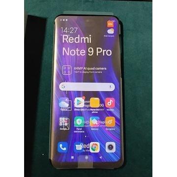 Nowy Turkusowy  Redmi Note 9 PRO 6GB/64GB + ETUI
