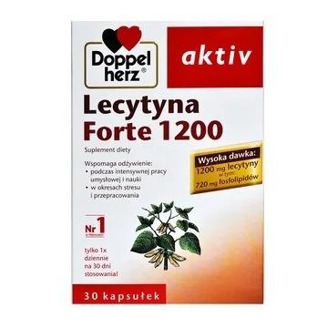 Doppelherz aktiv Lecytyna Forte 1200, kaps.30 szt.