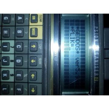 psion organizer lz64 z oprogramowaniem geodos 5.98