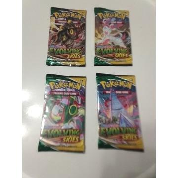 Karty pokemon TKG (EVOLVING SKIES)