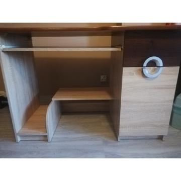 Biurko i łóżko