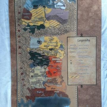 Mapa polityczna Imperium Lainów