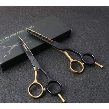 PROFESJONALNE nożyce fryzjerskie FIRMOWE 14cm ZEST