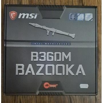 Płyta główna msi b360m bazooka gwarancja