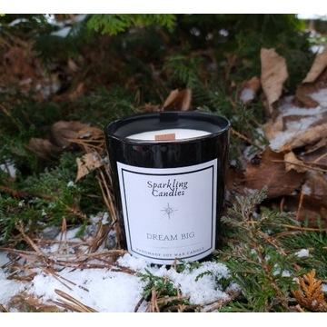 Dream big - świeca zapachowa sojowa naturalna