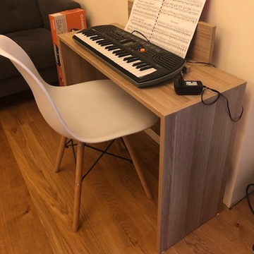 Keyboard Casio SA-77 ze stolikiem