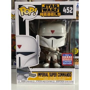 Funko pop Imperial Super Commando 452 Rebels