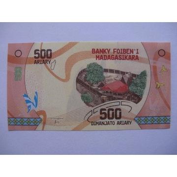 Madagaskar - 500 Ariary - 2017 - P99 - St.1