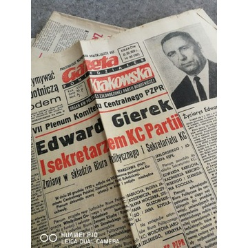 Prasa PRL Marzec Październik Papież Solidarność