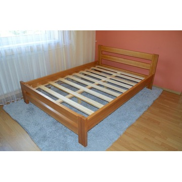 łóżko bukowe do sypialni sypialniane 140 PRODUCENT
