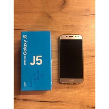 Uszkodzony Samsung Galaxy J5 2017 Gold
