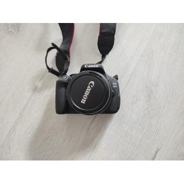 Aparat Canon EOS 600D + obiektyw+ torba