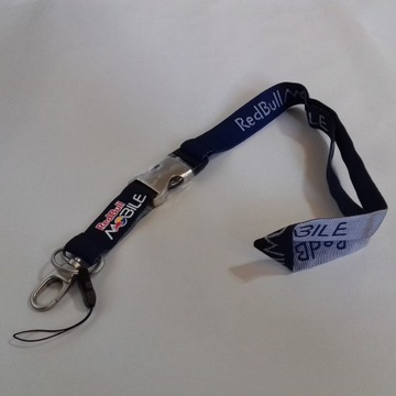 Smycz Red Bull MOBILE do kluczy/identyfikatora/tel