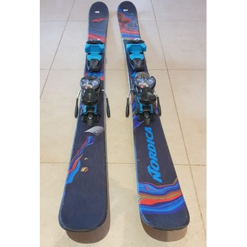 Narty Junior Nordica Ace J 128cm Twin Tip