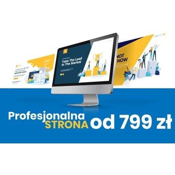Strona Internetowa dla firmy  - Strona www