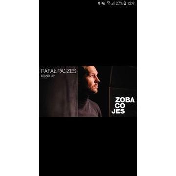 2 x bilet Pacześ-Zoba co jes,29.09.2020 Wwa,1 rząd