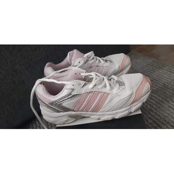 Buty Adidasy Biało-Różowe