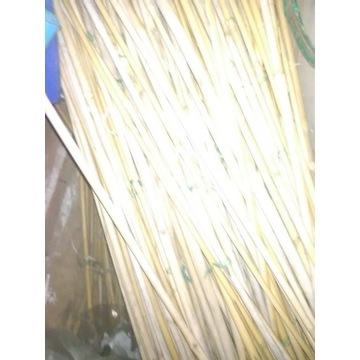 Tyczki bambusowe 10szt uzywane