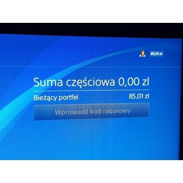 Konto PSN 85zł. EA Play. EA Acces