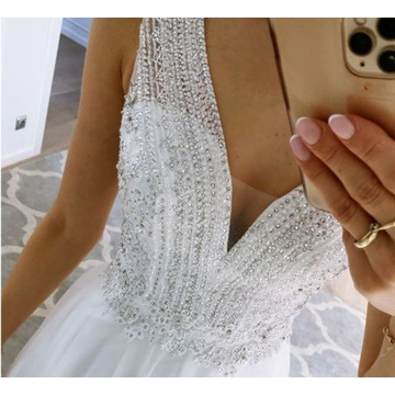 Nowa nieużywana piękna biała suknia ślubna