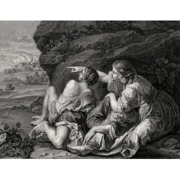 de Silva y Velázquez, Loth et ses Filles, 1786