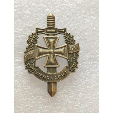WW2 Niemiecka Odznaka Wermacht 1935-1945, typ 2