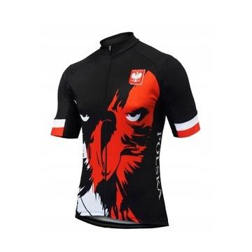 Koszulka kolarska rowerowa