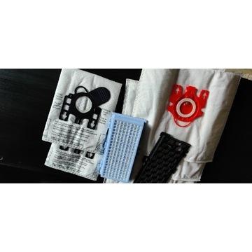 Filtr HEPA odkurzacz miele s500 s600 +5 worków