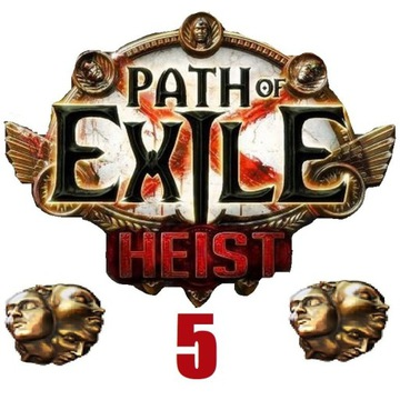 5x Exalted Orb Path of Exile Heist PC Softcore