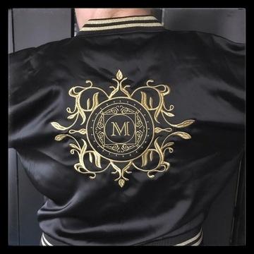 Komplet satynowe spodnie i bluza Monnari