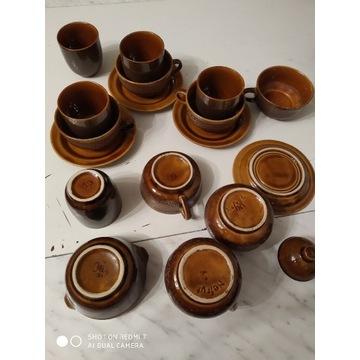 Komplet kawowy Nefryt