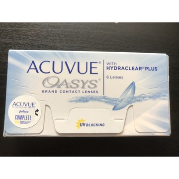 Soczewki Acuvue Oasys 6 szt. +5.25