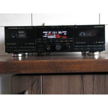 PIONEER CT-W710R DOLBY B-C HX-PRO
