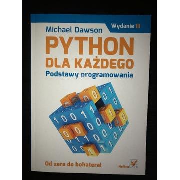 Python dla każdego Michael Dawson