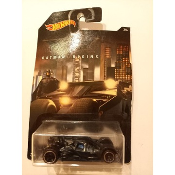 Batman Begins Batmobile Hot Wheels