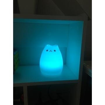 Lampka led silikon